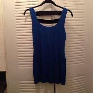 LF blue party dress