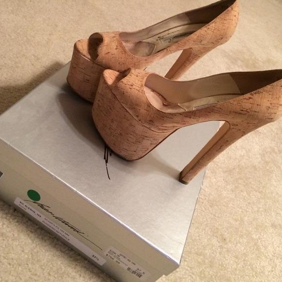 6edec228e04 Brian Atwood Shoes - Brian Atwood Cork platform Heels