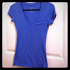 Tops - Royal blue Vneck