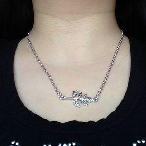 Jewelry - New Silver Leaf Necklace