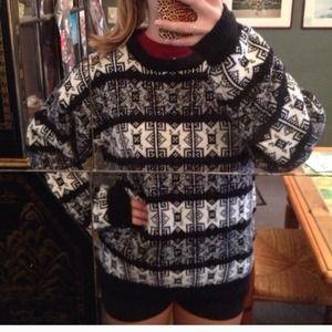Oversized Vintage knit sweater