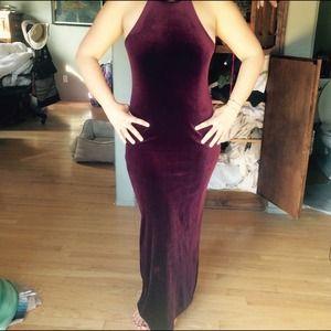 Dresses & Skirts - Velvet prom dress
