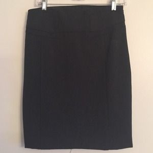 Dark gray pencil skirt – Modern skirts blog for you