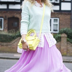 Satchel style handbag.