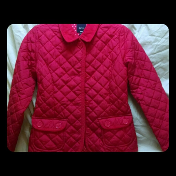 Gap Jackets Coats Kids Girls Hot Pink Quilted Jacket Poshmark