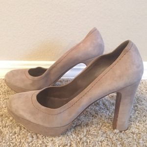 ‼️️REDUCED J.Crew Grey/Brown Pumps