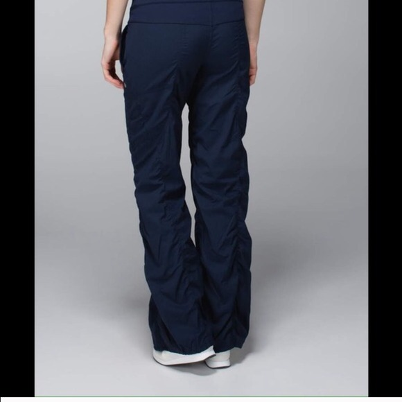 53b86d89d lululemon athletica Pants - Lululemon Navy Blue Unlined Studio Pants