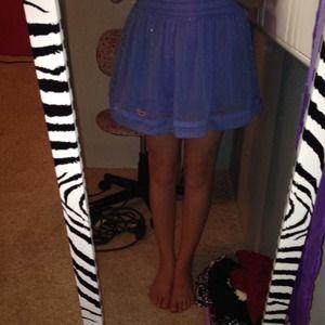 Flowy Blue Skirt