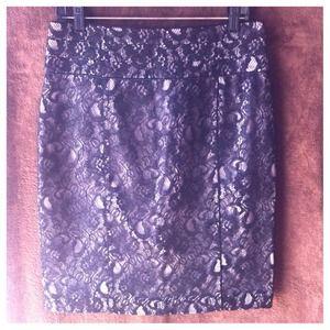 Lace H&M Pencil Skirt