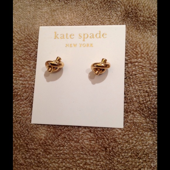 e96f8d7f5 kate spade Jewelry | 14k Gold Fill Knot Stud Earrings | Poshmark
