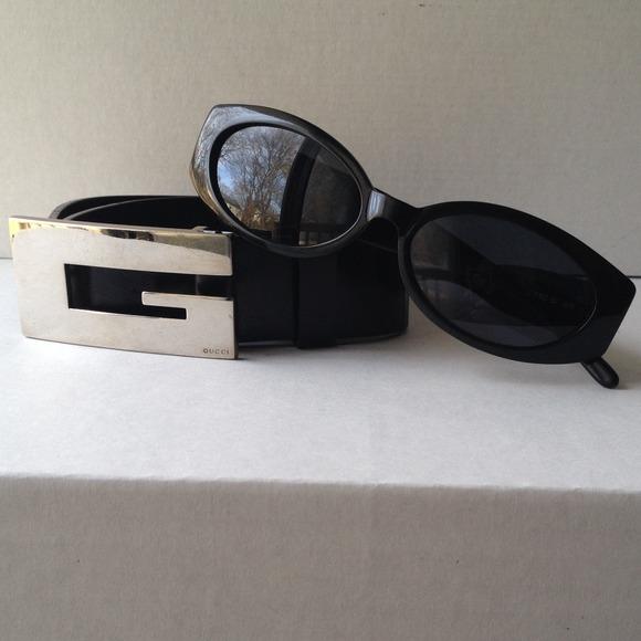 9a9b0a75c8b Gucci Accessories - Authentic Classic Black Vintage Gucci Sunglasses