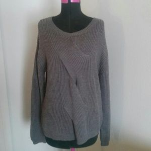 Sweaters - Womens oversized sweater top