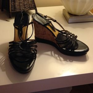 Charles by Charles David wedge sandals in size 6