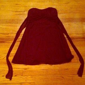Plum dress - short