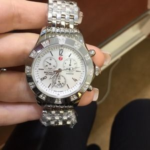 Michele Accessories - Michele jetway watch