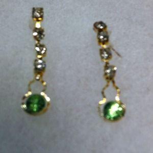 Vintage inspired dangling earrings.