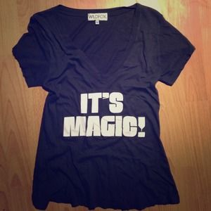 Wildfox It's Magic tee // sz Small // NWOT 