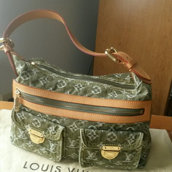 53f6a80db4e4af Louis Vuitton Bags | Sold On Ebay Denim Monogram Baggy | Poshmark