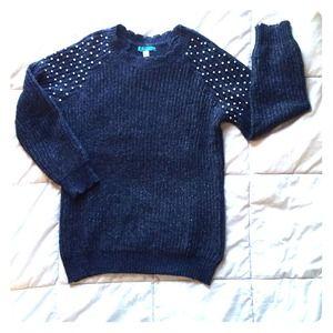 [Pim + Larkin] Pearl Embellished Sweater