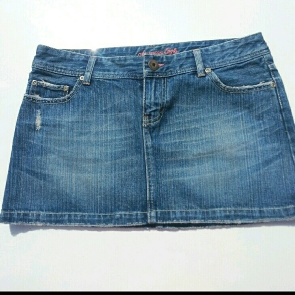 american eagle outfitters ae denim skirt from