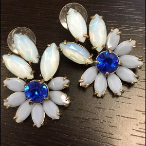 J. Crew Jewelry - Lulu Frost for J. Crew Glam Statement Earrings