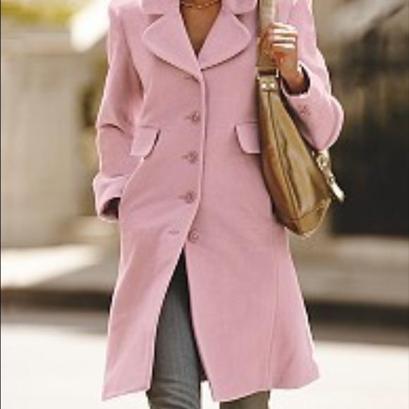 Pink Victoria s Secret Moda International Coat. M 546f9b5892282c054c00525c f4093d578