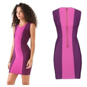 d43f976611c7 BCBGMaxAzria Dresses - Bcbg Max Azria purple short bodycon dress.