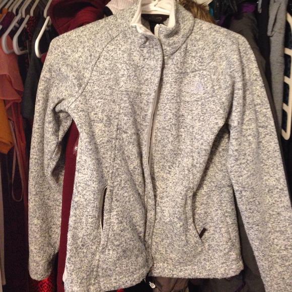 ccc408c33 North Face Indi Fleece Jacket Grey XS