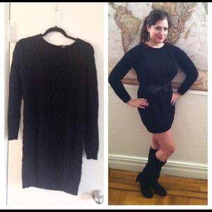 Dresses & Skirts - HOST PICK Black sweater dress