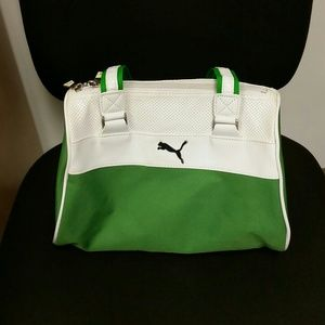 SOLD Puma gym bag