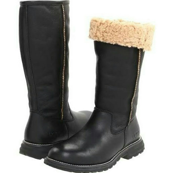 UGG Boots - Sold- Ugg Leather Winter Boots