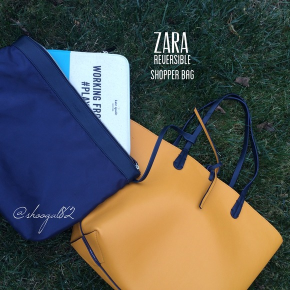 Zara Reversible Shopper Bag Shopper 2 Zara Bags