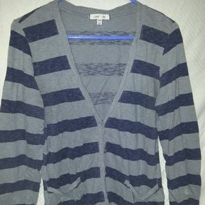 Buttoned up sweater