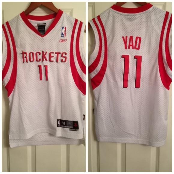 best authentic ccd4e 9fe2b NBA Houston Rockets Yao Ming Jersey