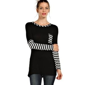 "Bare Anthology Tops - ""Poker Face"" Striped Top"
