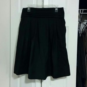 Zara Black A Line Skirt