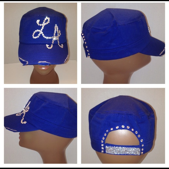 Custom bling bling hats by Anointed fcc425f09bec