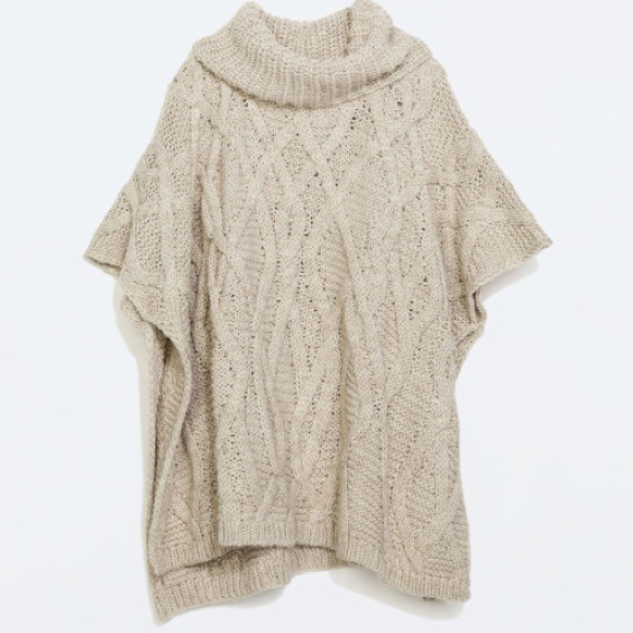 Knitting Pattern For Cowl Neck Poncho ~ Ipaa.info for .