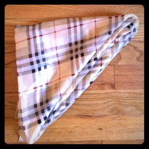 Accessories - Plaid Printed Scarf