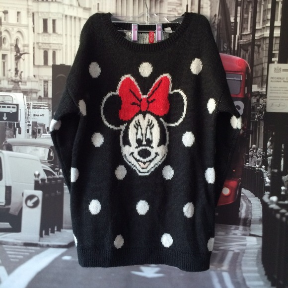 Minnie Mouse Sweater H&m
