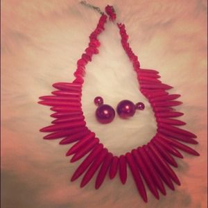 Jewelry - Red Coral Necklace (Top sold separately)