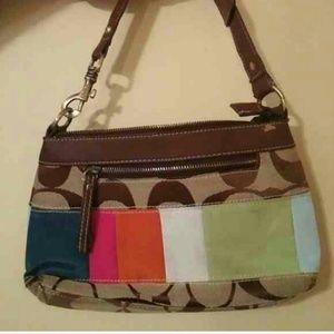 Authentic coach bag mini