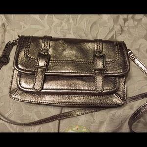 The Sak Handbags - Saks Laguna Gold Crossbody NWT