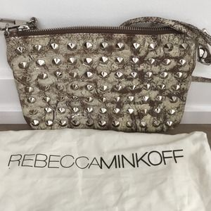Rebecca Minkoff studded leather cross-body bag