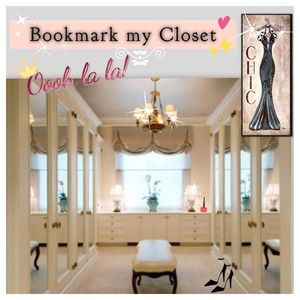 Welcome to my closet!!  Bookmark my Closet!