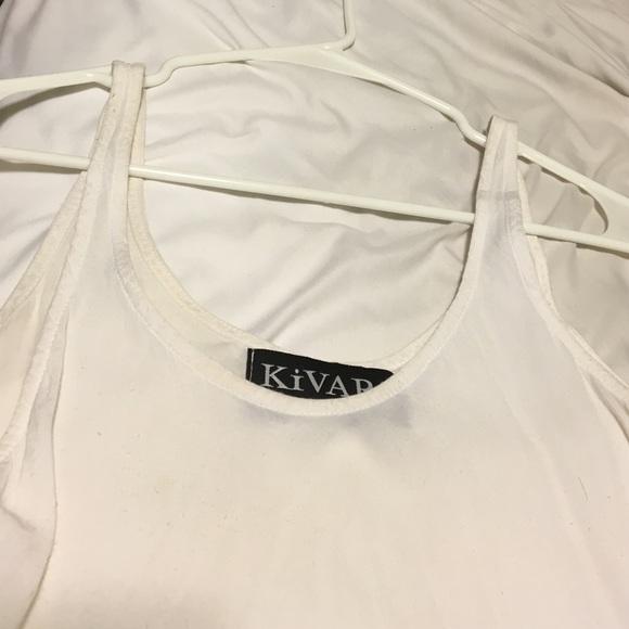 Free People Tops - Kivari white kite top