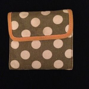 Cloth Wallet - NWOT