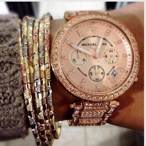 Michael Kors Jewelry Sale Rose Gold Watch Poshmark
