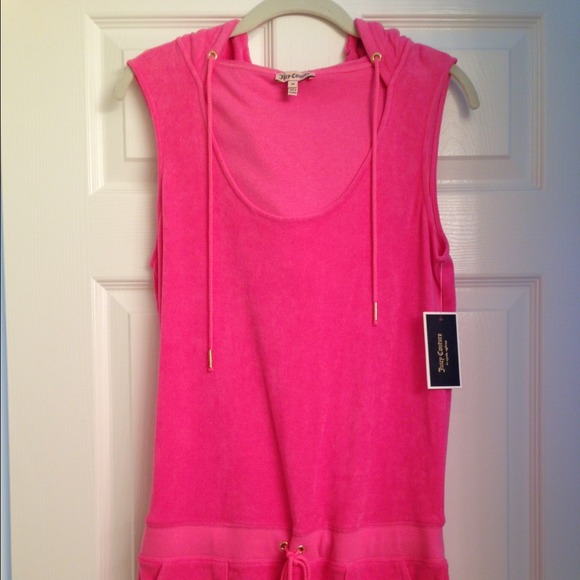 0ad499445b9 Pink Juicy Couture terry romper