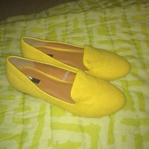 BDG Shoes - New Yellow Loafers Flats | Urban Outfitters | 8